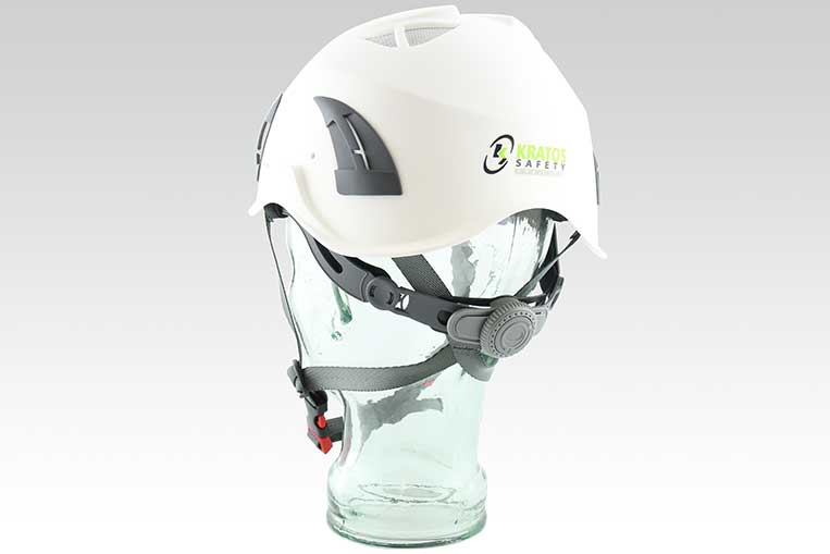 Fox Safety Helmet Rear View