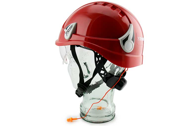 TR2000 Safety Helmet Rear View