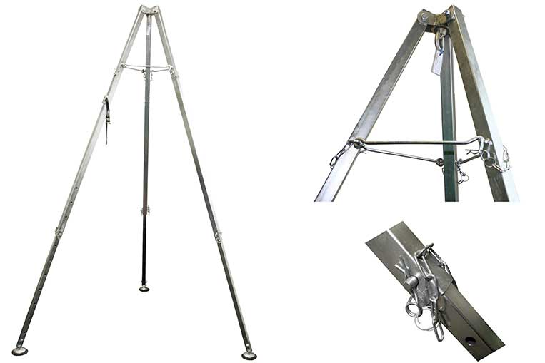 Cadmium Plated Dual Use Tripod